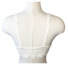 Load image into Gallery viewer, Lace Bralette - Ivory - Accents Dallas