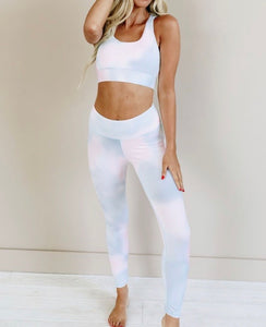 Cotton Candy Workout Top