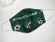 Load image into Gallery viewer, Dallas Stars Face Mask - Accents Dallas