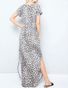 Leopard Maxi Dress - Accents Dallas