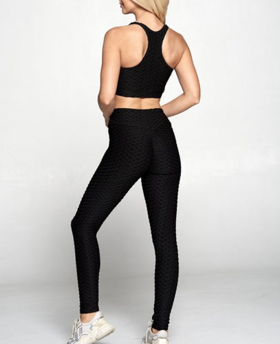 black butt lifting leggings