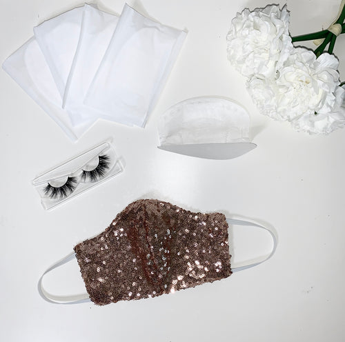 Rose Gold Sequins Package