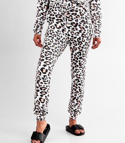 Lounge Leopard Joggers - Accents Dallas
