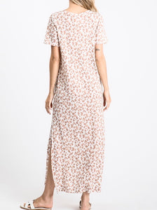 Animal Print Maxi Dress - Accents Dallas