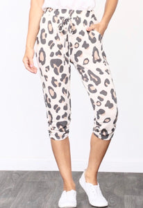 Leopard Drawstring Joggers - Accents Dallas