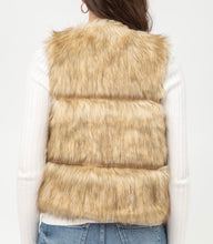 Load image into Gallery viewer, Faux Fur Vest