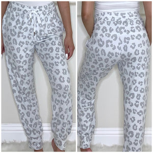 Leopard Joggers - Accents Dallas