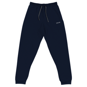 Dallas Unisex Joggers - Accents Dallas
