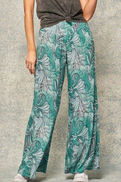 A Pair Of Paisley-print Pants - Wild Within®