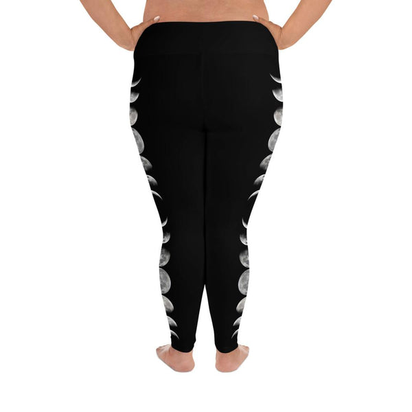 Moon Phase Plus Size Leggings - Wild Within®