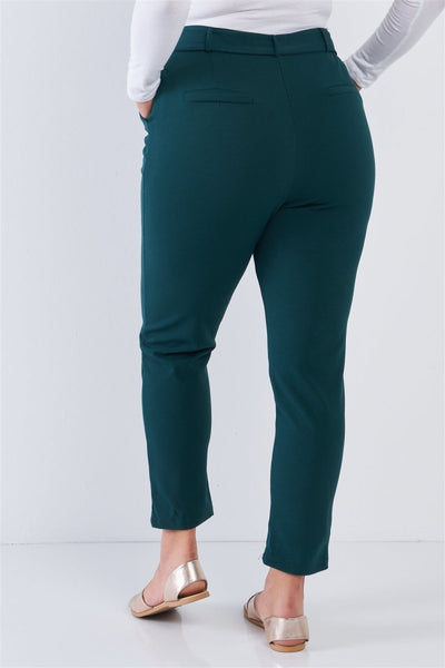Plus Size High Waisted Ankle Length Pants - Wild Within®