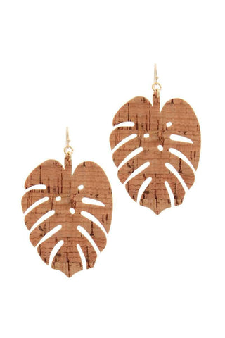 Tropical Leaf Drop Earring - Wild Within®