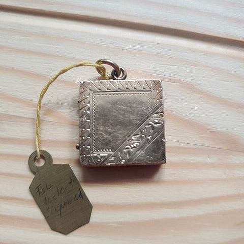 Vintage Square Locket