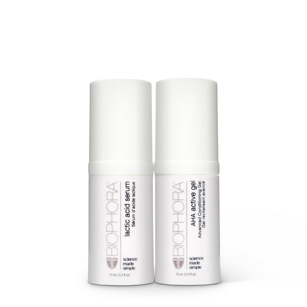 Home Facial Peel Duo (purchase by appointment)