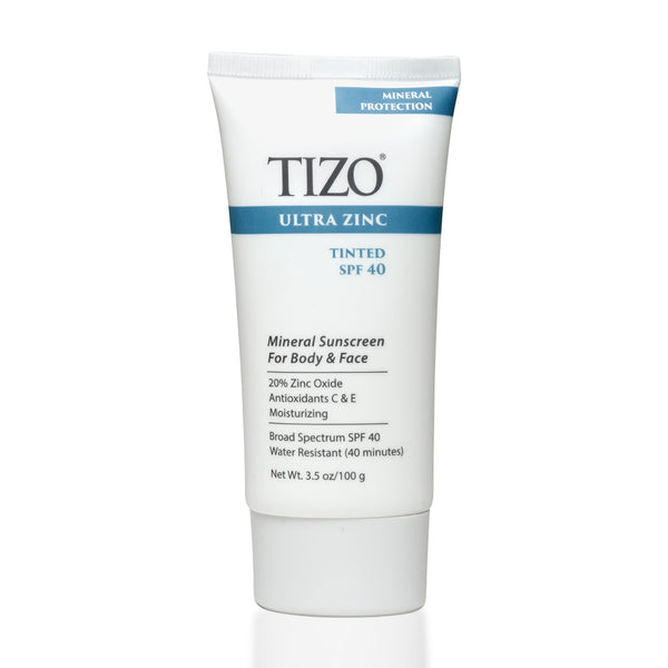 Ultra Zinc Face & Body Sunscreen SPF 40 (Tinted)
