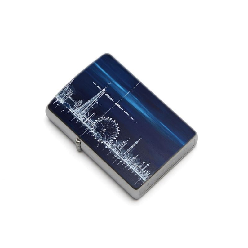 London Skyline at Midnight Zippo® Lighter