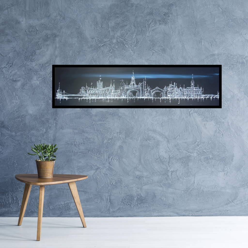 Gift: Limited Edition Classic Skyline Canvas Print Of Their Choosing