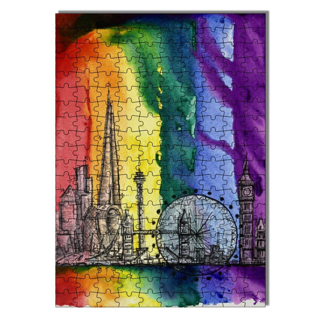 """50 Years of Pride: London"" Wood jigsaw Puzzles 200 Pieces"