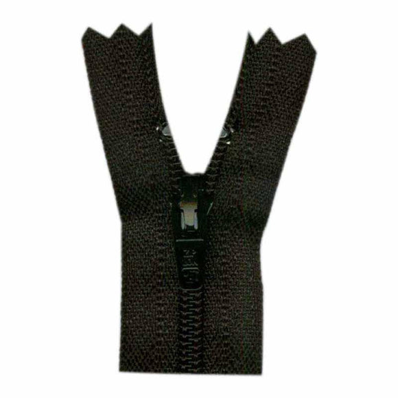 Lightweight Open Ended Separating Zipper 60cm (26″) No. 3 - Black