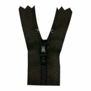 "24"" Mid-weight No 5 Open End Separating Jacket Zipper - Black"