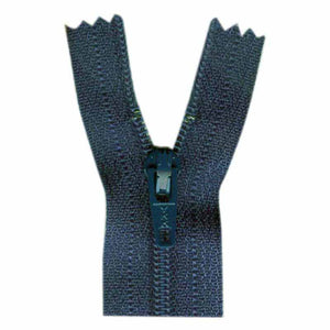 General Purpose Closed End Zipper 50cm (20″) - Charcoal Blue