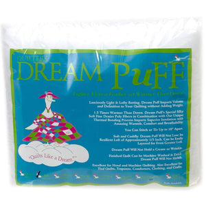 "Quilters Dream Puff Batting - Crib Size 60"" x 46"""