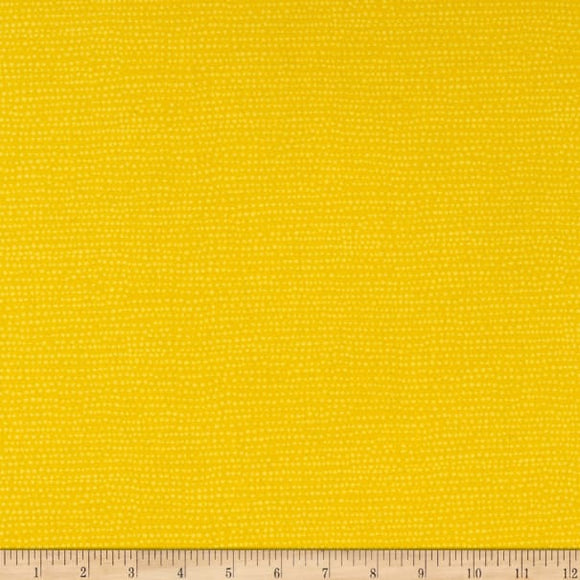 Dear Stella Moonscape - Lemon - 1/2 Yard