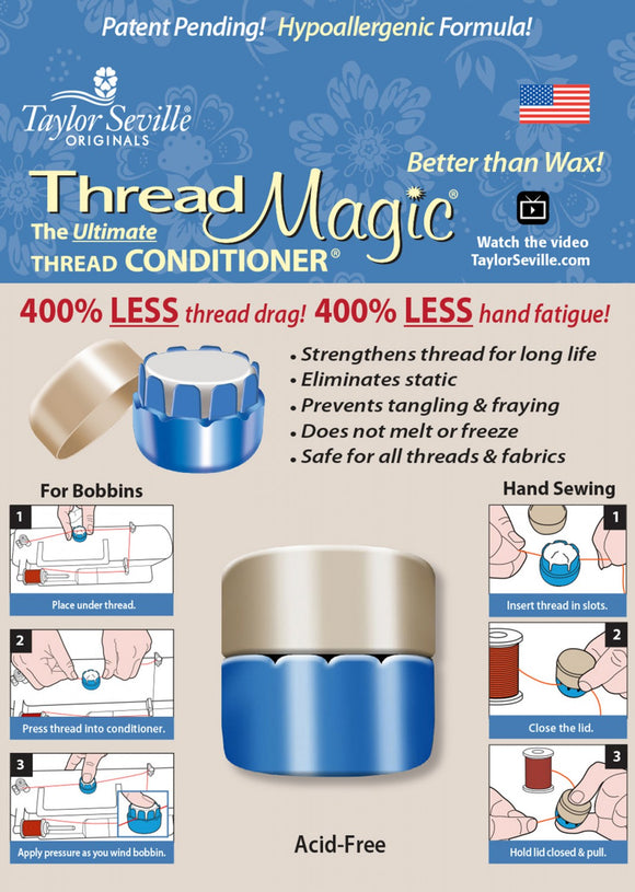 Thread Magic Round - The Ultimate Thread Conditioner