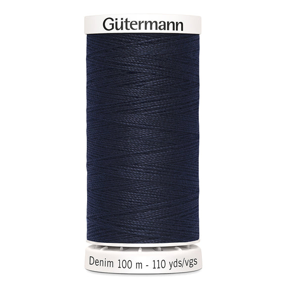 Gütermann Jean Thread 100m - Dark Blue  Col. 950