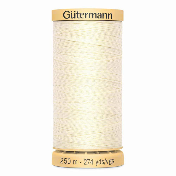 Gütermann Cotton 50wt Thread 250m - Ivory