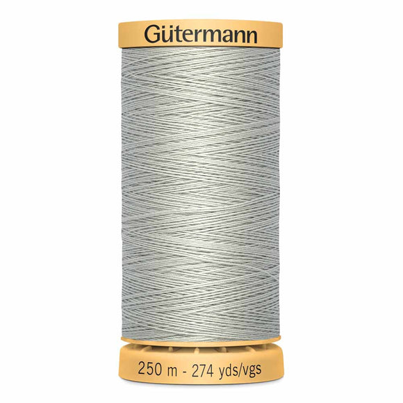 Gütermann Cotton 50wt Thread 250m - Light Slate