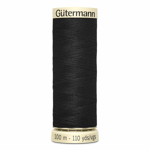 Gütermann Sew-All Thread 100m - Black Col.10