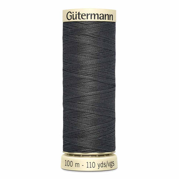 Gütermann Sew-All Thread 100m - Charcoal Col. 125