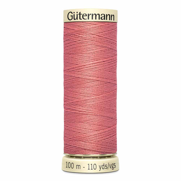 Gütermann Sew-All Thread 100m - Coral Rose Col.352