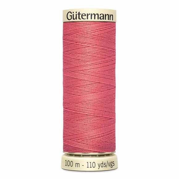 Gütermann Sew-All Thread 100m - Coral Reef Col. 373
