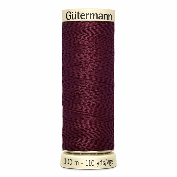 Gütermann Sew-All Thread 100m - Burgundy Col. 450