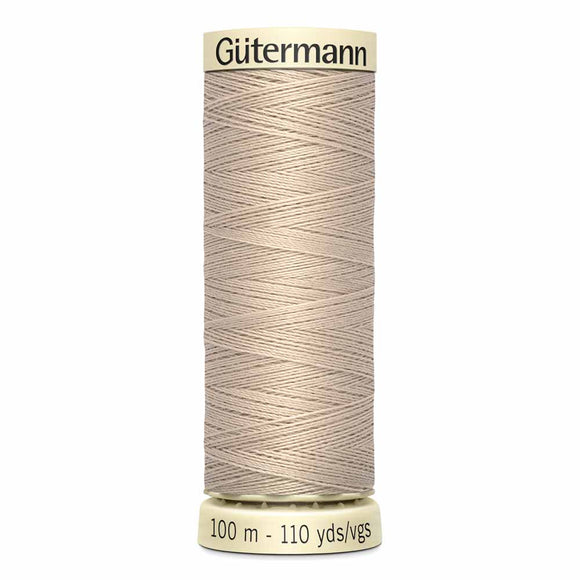 Gütermann Sew-All Thread 100m - Sand Col. 506
