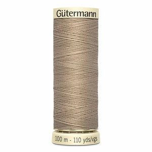 Gütermann Sew-All Thread 100m -  Khaki Col. 507