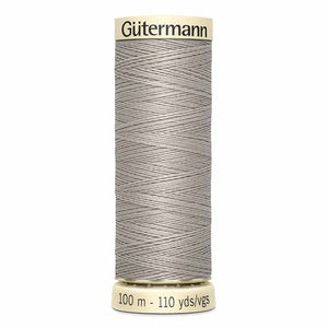 Gütermann Sew-All Thread 100m - Light Beige Grey Col. 513