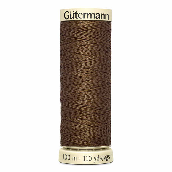 Gütermann Sew-All Thread 100m - Molasses Col. 544