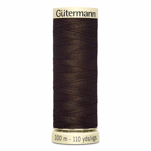 Gütermann Sew-All Thread 100m - Espresso Col. 587