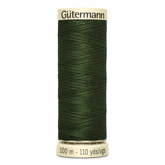 Gütermann Sew-All Thread 100m - Black Olive Col. 782