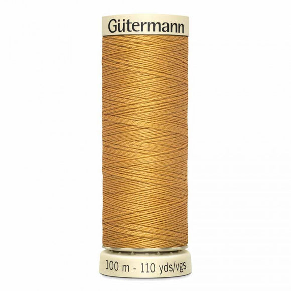 Gütermann Sew-All Thread 100m - Gold  Col. 865