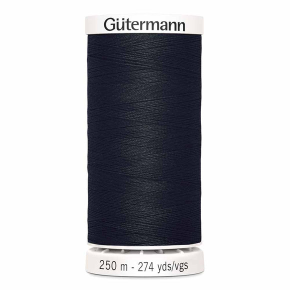 Gütermann Sew-All Thread 250m - Black Col.10