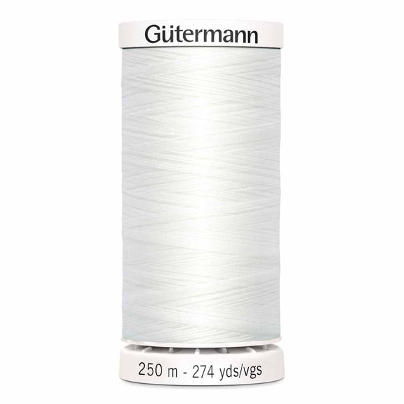 Gütermann Sew-All Thread 250m - Nu White Col.20