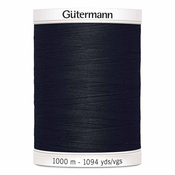 Gütermann Sew-All Thread 1000m - Black Col.10