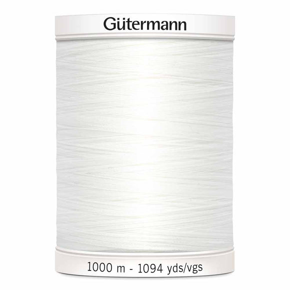 Gütermann Sew-All Thread 1000m - Nu White Col.20