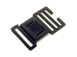 "13mm (1/2"") Center Release Plastic Buckles - per pair of two"