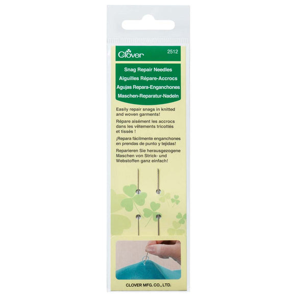 CLOVER 2512 - Snag Repair Needles - 2 pcs