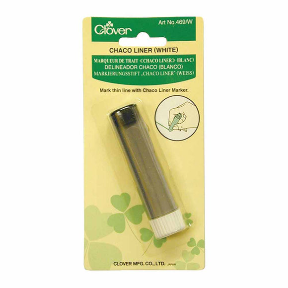 Clover 469W - Chaco Liner - White - Chalk Pen